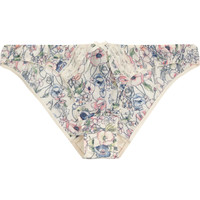 Elle Macpherson Intimates - Indian Poppy printed stretch-crepe briefs