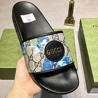 GG new high-quality flip-flop non-slip slippers shoes