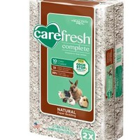 Carefresh Complete Small Animal Bedding Natural 30L