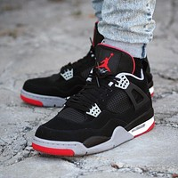 Air Jordan 4 Retro ¡°Bred¡± 2019
