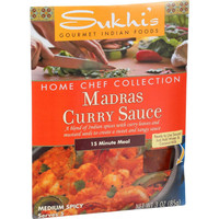 Sukhi's Gourmet Indian Food Madras Curry Paste - 3 oz - Case of 6