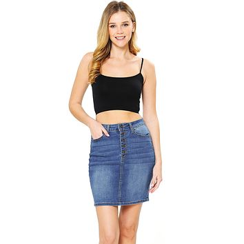 Blair Denim Skirt