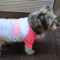 Wear Pink Not Mink Dog T-Shirt