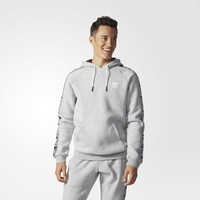 adidas Essentials Hoodie - Grey | adidas US