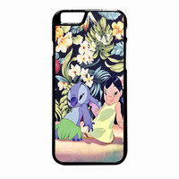 Lilo And Stitch Dancing Floral iPhone 6 Plus Case