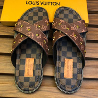 LV men Slipper