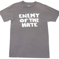 Enemy of the Hate Dusty Grape Graphic Tee