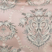 NIGHTINGALE PINK BACKGROUND FLOWER FABRIC