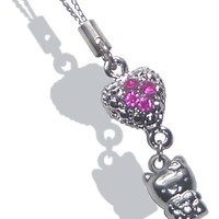 Hello Kitty Cell Phone Charm
