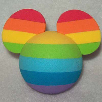disney parks pencil pen antenna topper mickey mouse rainbow new