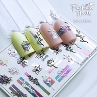 Fashion Nails - 3D  98 Water Decals