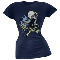 Batgirl - Night Person Juniors T-Shirt