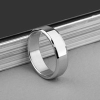 Free Shipping 2016 New Titanium Steel Couple Punk Rings Anillos Hombre Vintage Ring Men Jewelry NP153