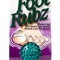 Due North Foot Rubz Foot Hand and Back Massage Ball, Relief from Plantar Fasciitus, Green
