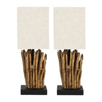 Safavieh 2-pc. Branches Table Lamp Set
