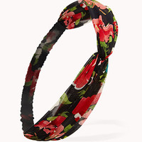 Knotted Rose Headwrap