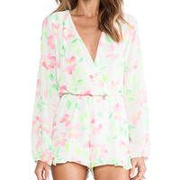 Eight Sixty Romper in Ivory
