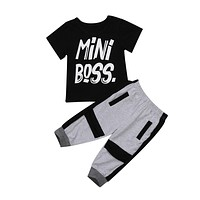 Mini Boss 2-Piece Set
