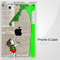 New Vintage The Giving Tree Retro Custom iPhone 5 3D Case Cover