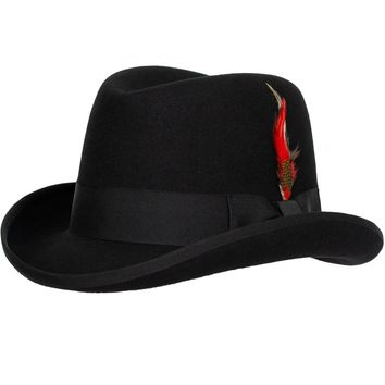 Charles Wool Homburg Godfather by 9th Street Hats