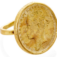 Queen Victoria Coin Ring, Stone & Novelty Rings