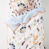 River Luna Woodland Kids Quilt