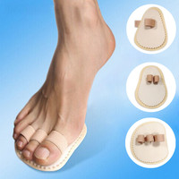 1/2/3-Toe Overlapping Crooked Foot Protector Feet Care Hallux Valgus Toe Correction Pad
