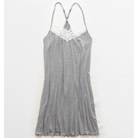 Aerie Real Soft® Nightie, Dark Heather