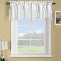 White Soho Straight Valance