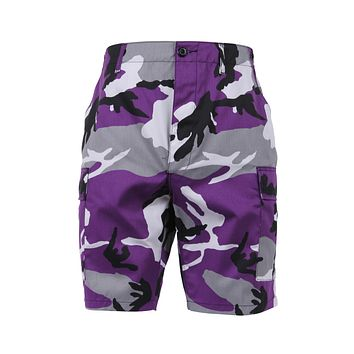 Rothco - Colored Ultra Violet Camo BDU Shorts