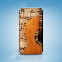 Guitar And Note customized for iphone 4/4s/5/5s/5c ,samsung galaxy s3/s4/s5 and ipod 4/5 cases