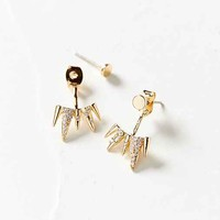 Spiked Ice Ear Jacket Earring