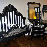 """French Provincial Bedroom Set """"Gone Hollywood"""" - MADE TO ORDER"""