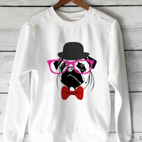 PUG sweater unisex adults