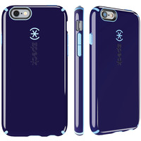 SPECK 73427-C257 iPhone(R) 6 Plus/6s Plus CandyShell(R) Case (BerryBlack Purple/Periwinkle Blue)