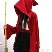 Red Hex Witch & Wizard Hoodie