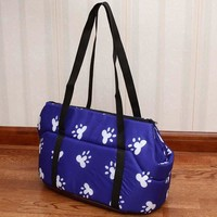 S/L Pet Dog Cat Carrier Backpack Outdoor Travel Tote Bag for Puppy Dog Bag Chihuahua Shoulder Carrier Breathable Pet Supplies