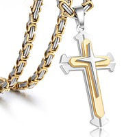 Knights Cross With Chain