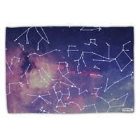Constellations Color All Over Standard Size Polyester Pillow Case All Over Print