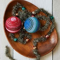 Magical Thinking Yarn Wrapped Ornament-