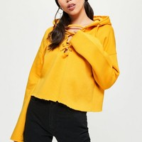 Missguided - Purple No Time For Basics Cropped Sweatshirt