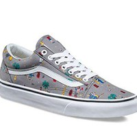 Vans Old Skool (Party Train) The Star/ Grey Canvas Shoe
