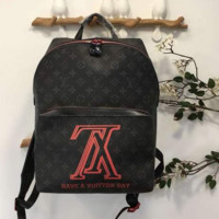 LV FASHION PRINT BACKPACK BAG