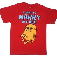 I Want To Marry My Bed - Adventure Time T-shirt