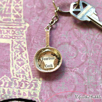 Ratatouille, Frying Pan Keychain, Little Chef, Fearless Cook, Personalize Name,  Disney Inspired, by Life is the Bubbles