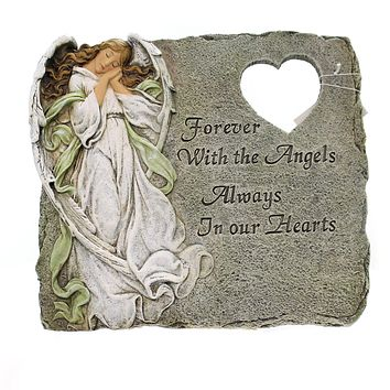 Home & Garden MEMORIAL STEPPING STONE Polyresin Joseph's Studio 47477