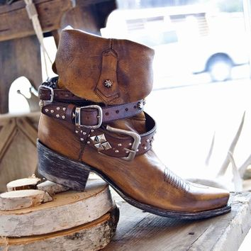 Yippee-Ki-Yay Golden Rodeo Boot