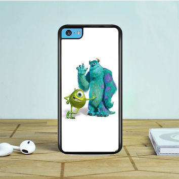 Monsters Inc Sulley And Mike- iPhone 5 5S 5C Case Dewantary