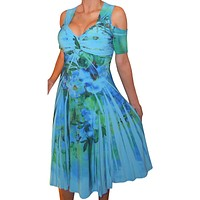 Blue Swing Dress Made in USA