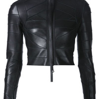 ODD. New York | DSQUARED2 - Bondage Leather Jacket